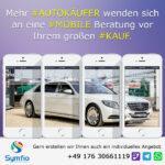Mehr Autokäufer wenden sich an eine mobile Beratung vor Ihrem großen Kauf.