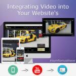 Einfügen von Videos auf Ihrer Webseite