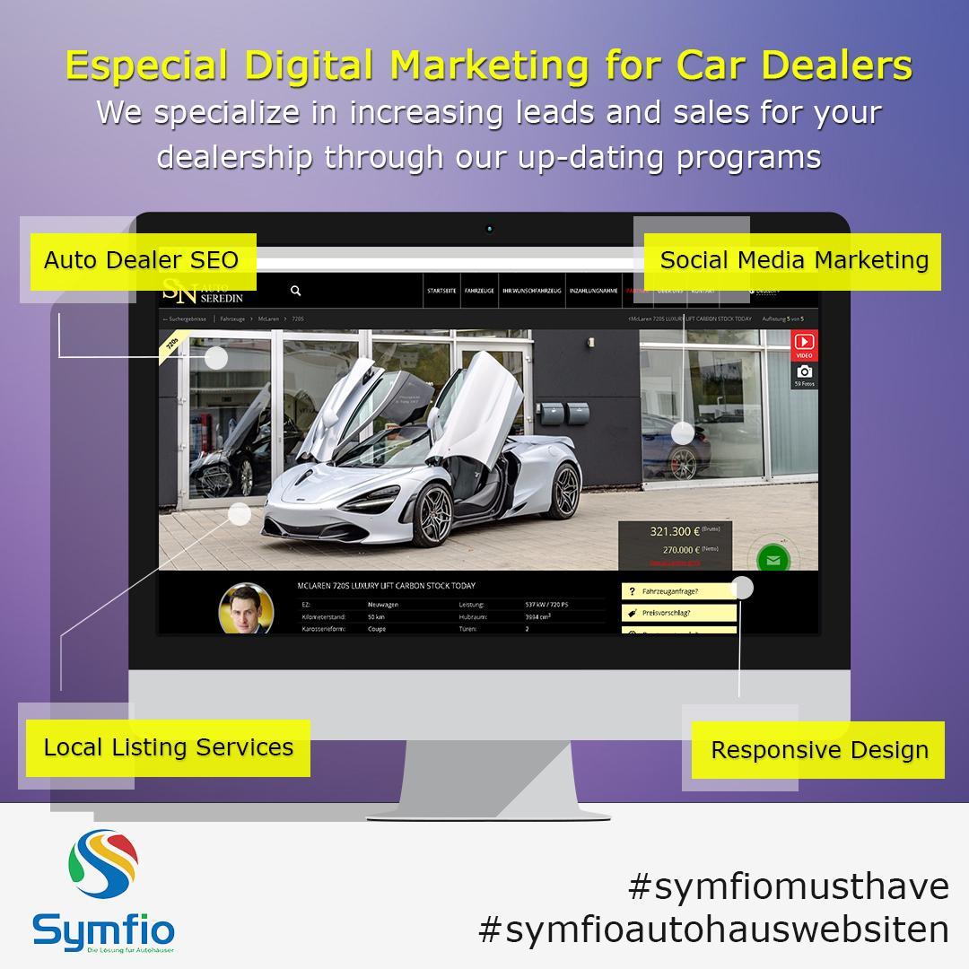 Spezielles Digital-Marketing für Autohändler