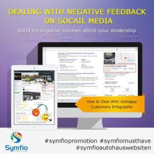 complaints social media feedback car dealership website