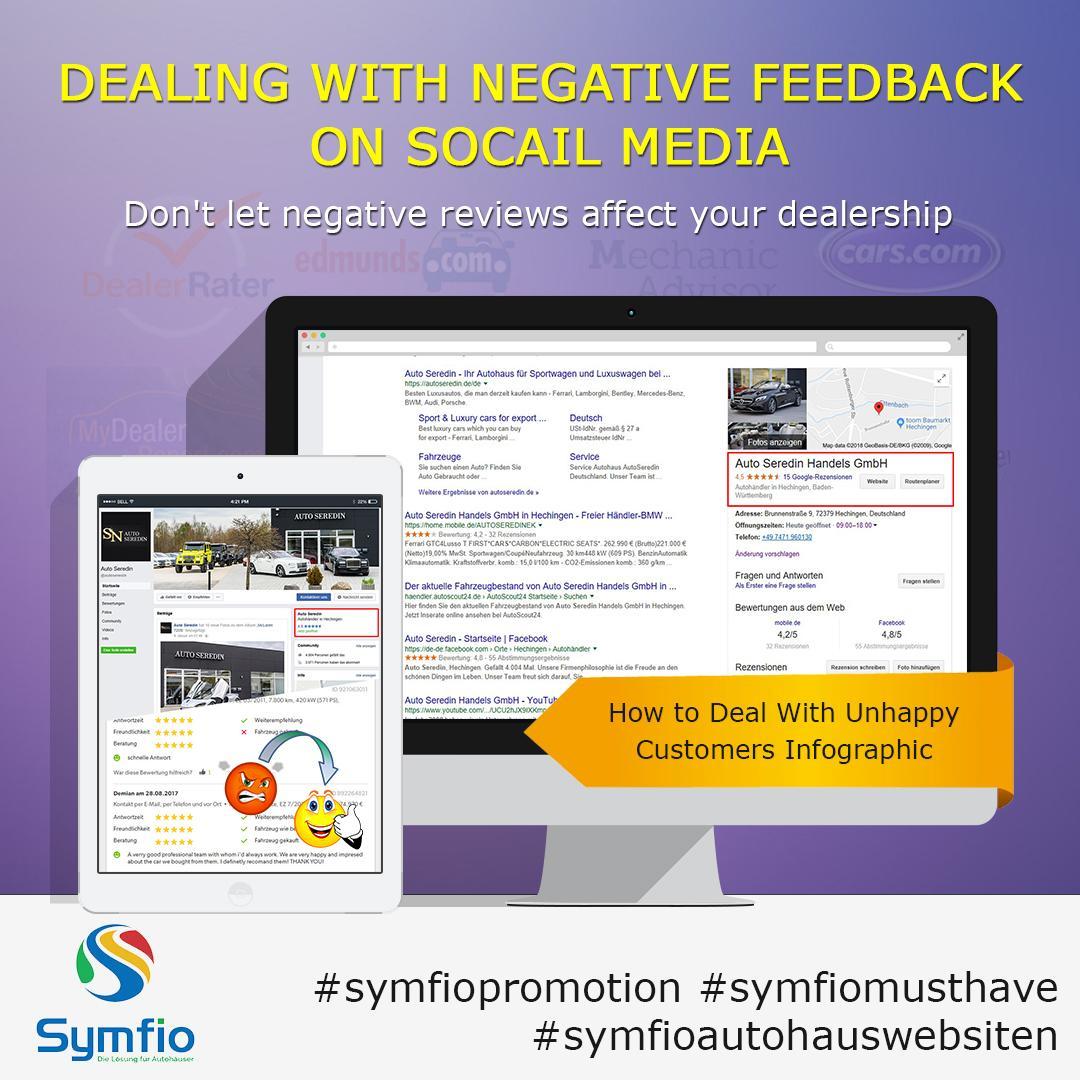 Richtiger Umgang mit negativem Feedback auf sozialen Netzwerken