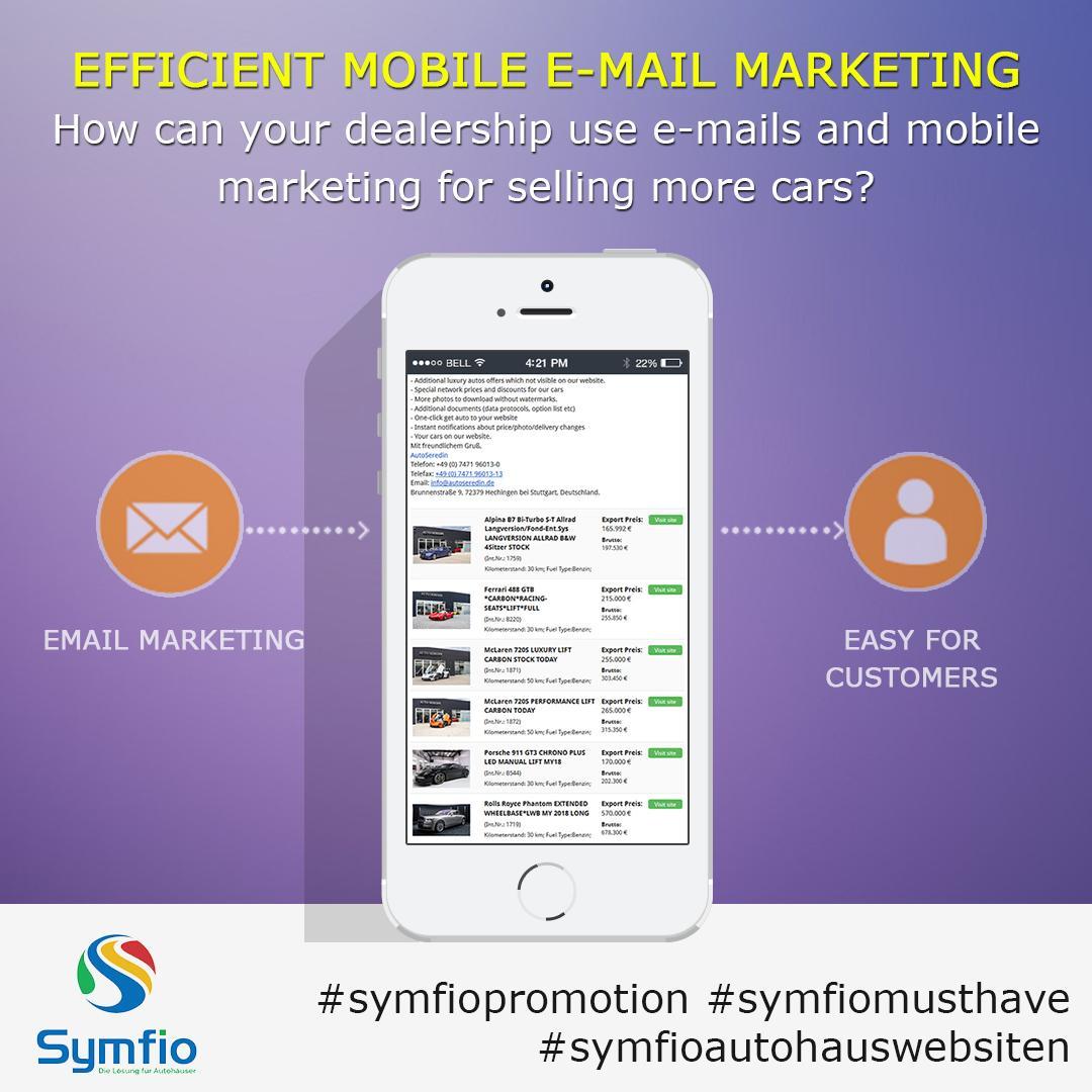 Effizienter Einsatz von Mobile und Email - Marketing