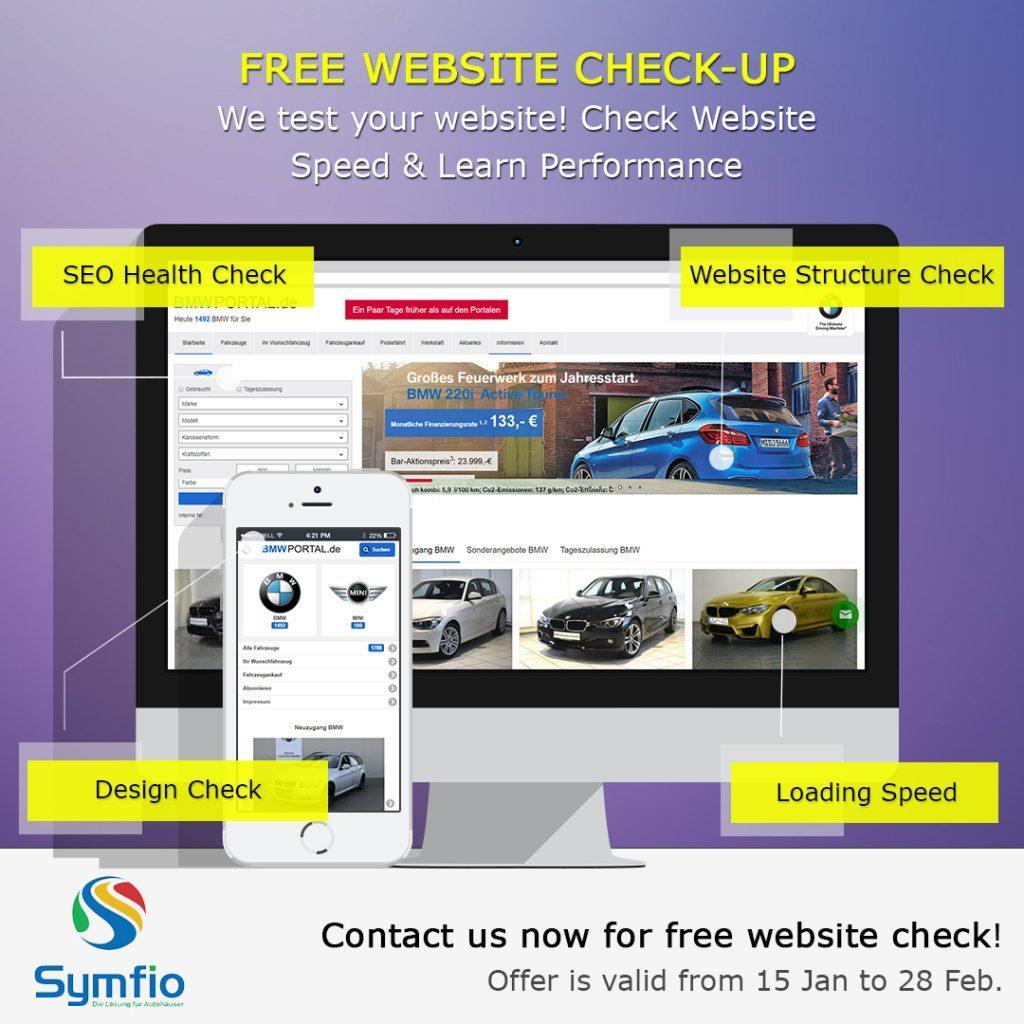 Kostenloses Webseiten Check-Up