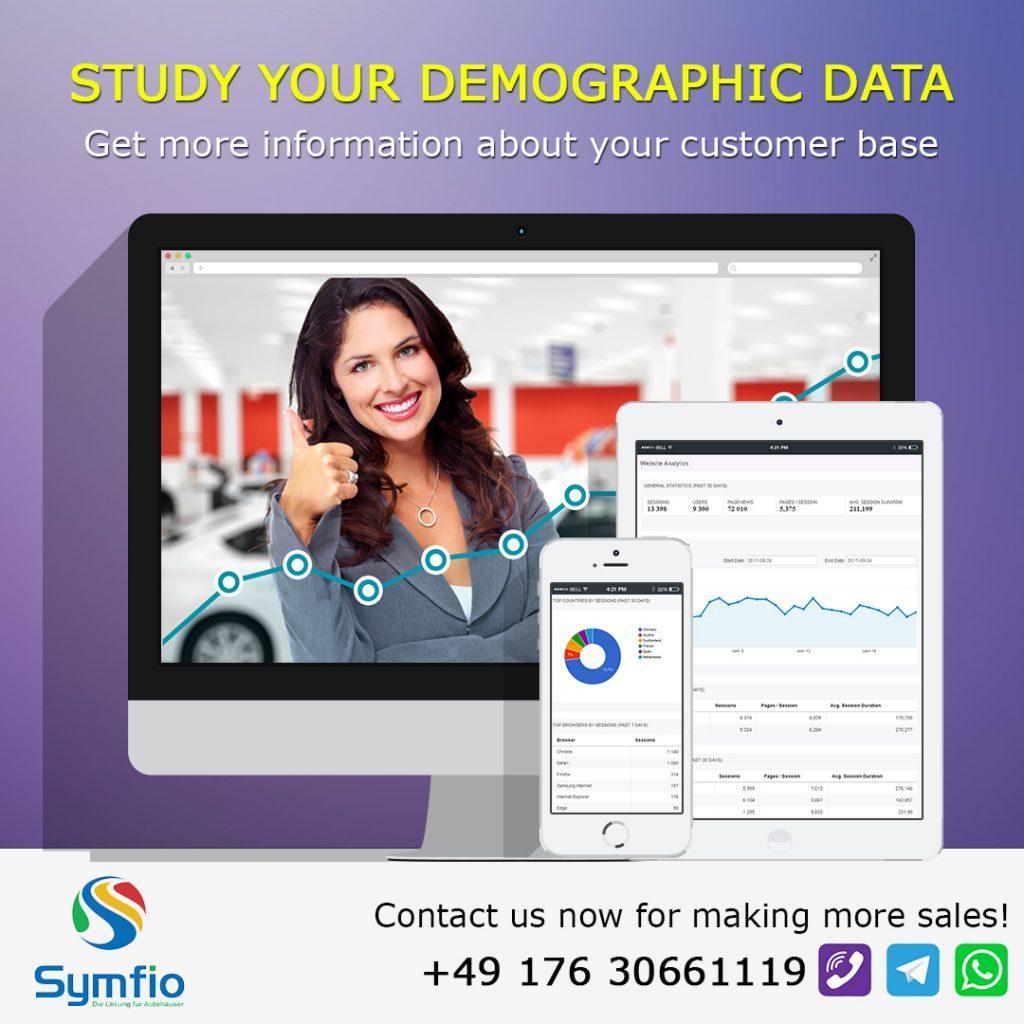 Studieren Sie Ihre Demographischen Daten Ein