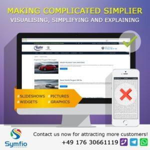 Making Complicated Content on Your Car Dealership Website Simplier