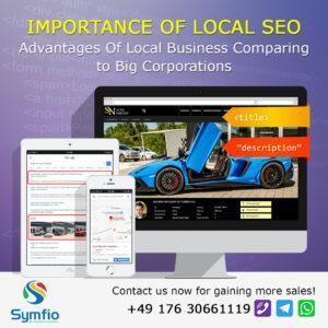 Local SEO Car Dealershp Website