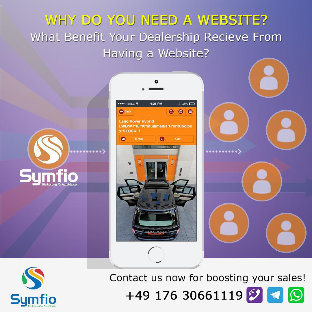 Wieso braucht man eine Webseite?