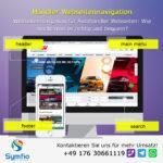Händler Webseitennavigation