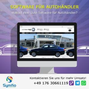 Was ist eine gute Software für Autohändler?