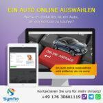 Ein Auto Online auswählen