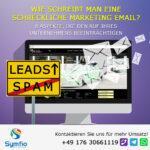 Wie schreibt man eine schreckliche Marketing Email?