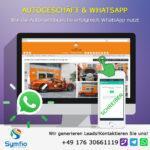 Autogeschäft & WhatsApp