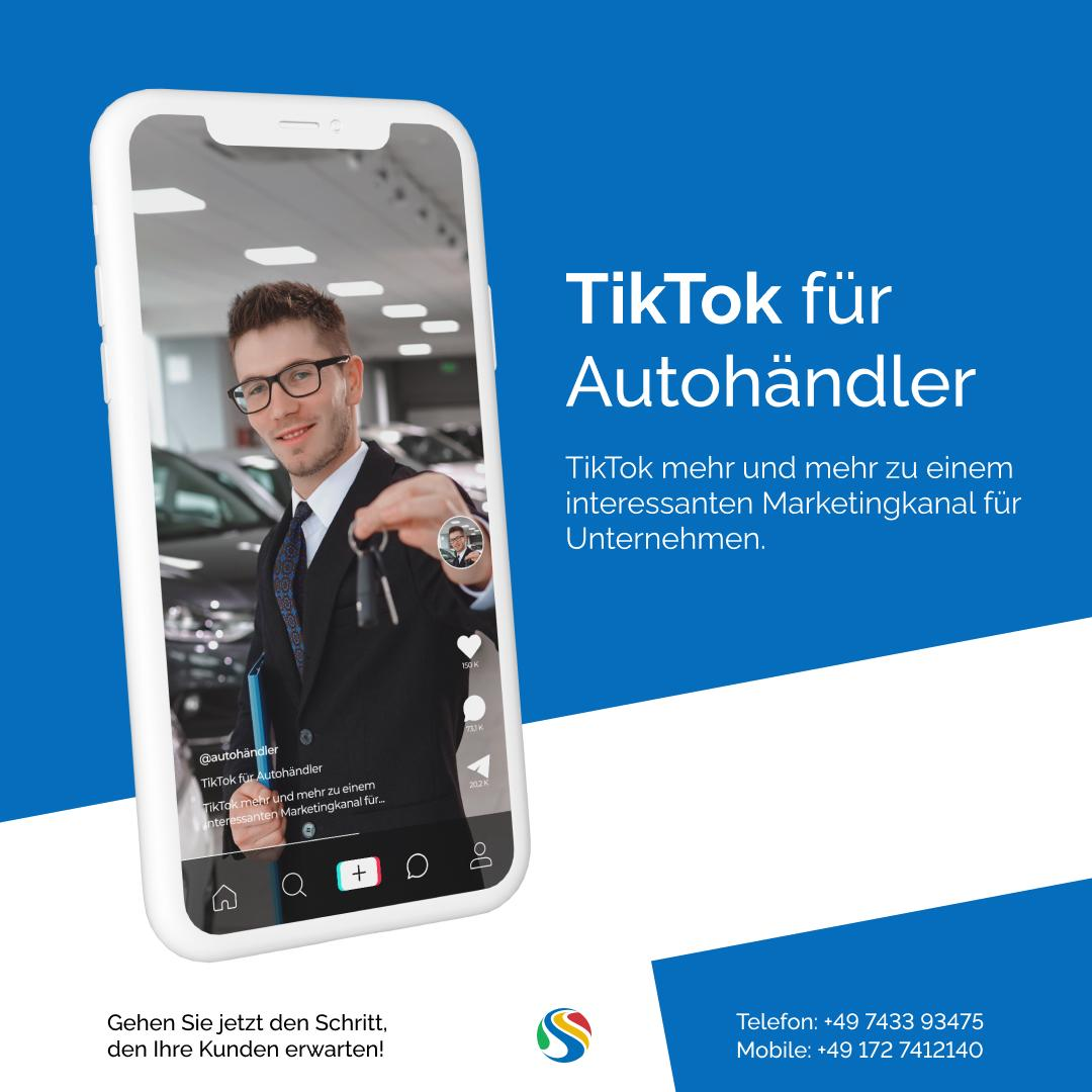 TikTok für Autohändler