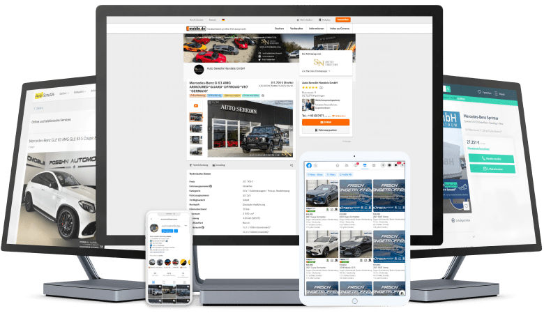 Fahrzeugvermarktung | Symfio - Dealer Management System