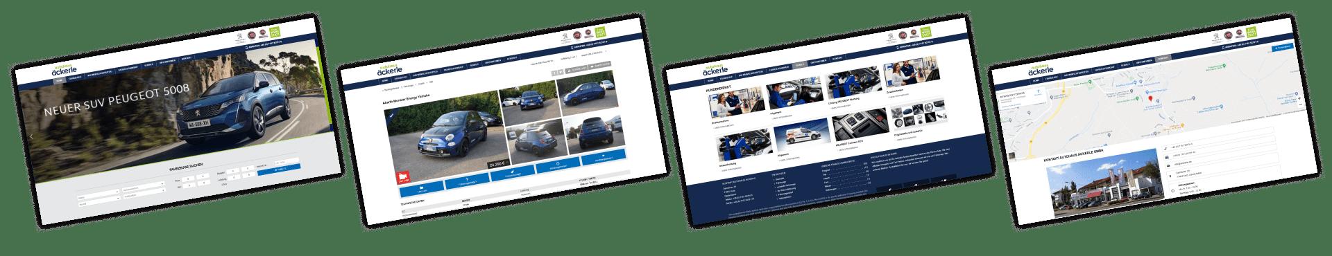 Autohaus Äckerle | Vertrags- und Servicepartner für Peugeot und Fiat – Stuttgart