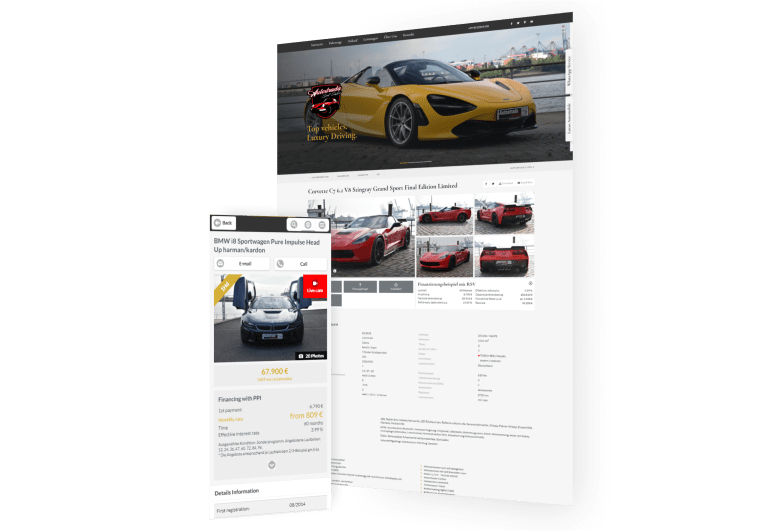 Autostrada Sport - hochwertige und exklusive Sportwagen in Norddeutschland
