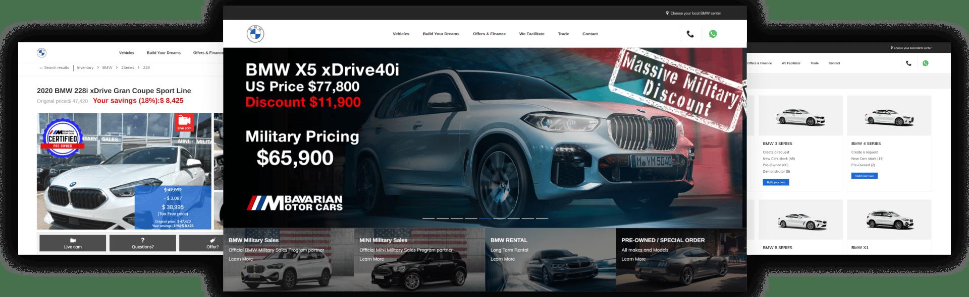 Bavarian Motor Cars – Spezialisierter Verkauf von BMW und MINI
