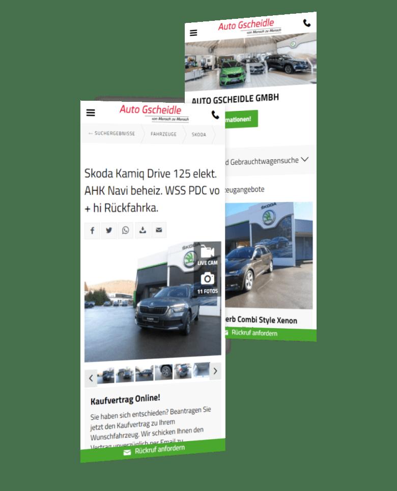 Auto Gscheidle - Vertragshändler für Skoda in Albstadt