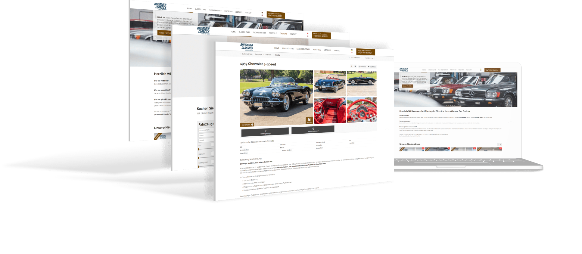 Rheingold Classics - Classic Car Partner in Rheinbreitbach