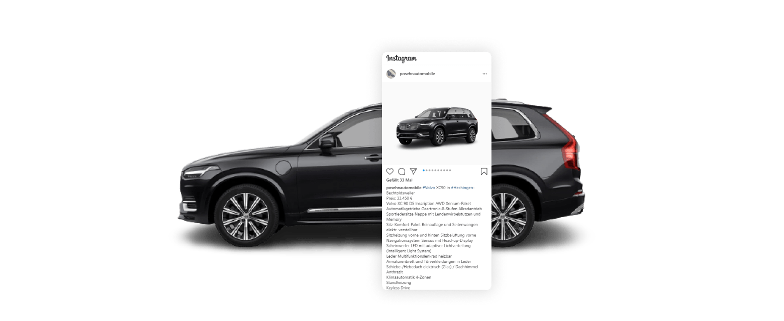 Instagram   Social Media Marketing für Autohaus