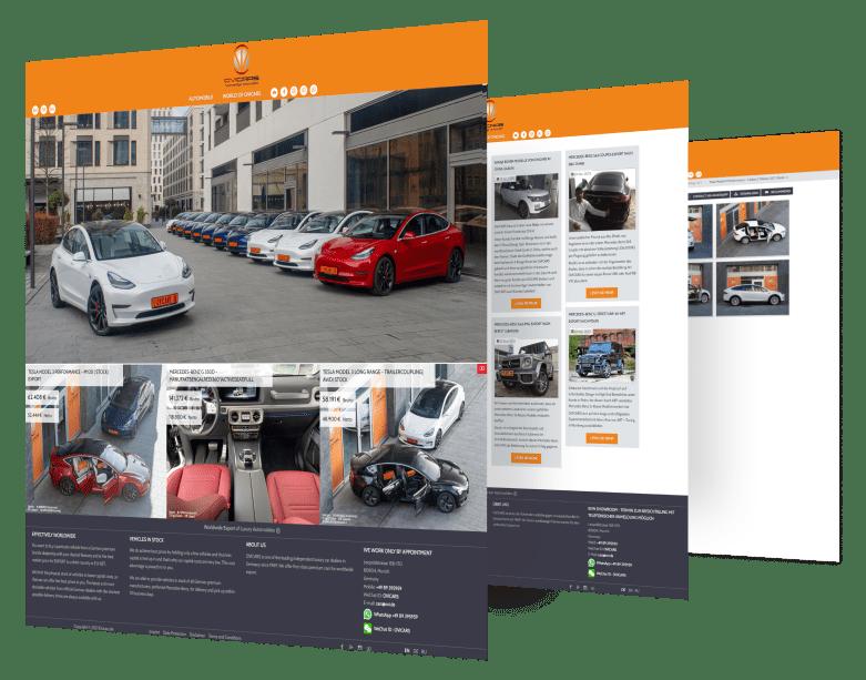OVICARS - Ausfuhr von Geländefahrzeugen der Premium-Klasse