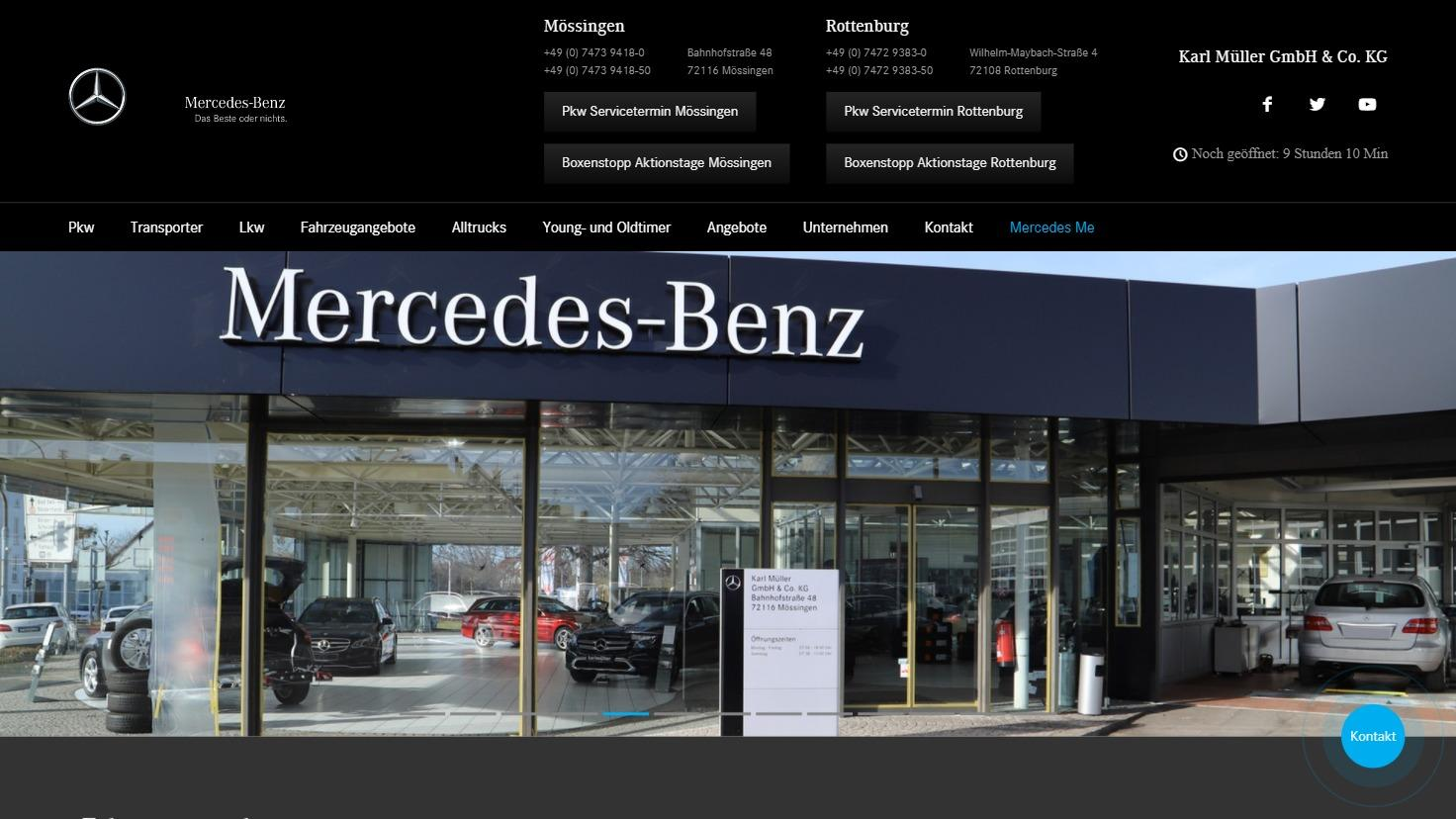 Karl Müller - Mercedes-Benz