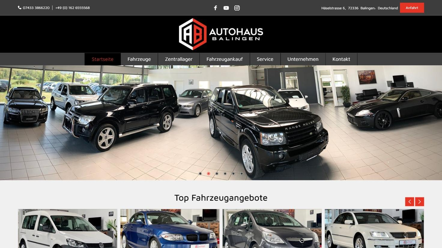 Autohaus Balingen - Gebrauchtwagenhändler in Balingen