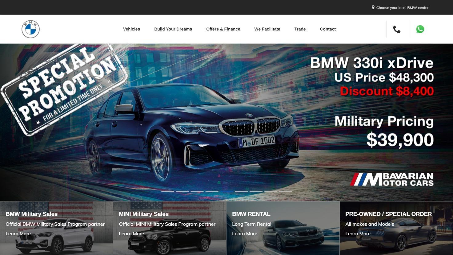 Bavarian Motor Cars - Spezialisierter Verkauf von BMW und MINI