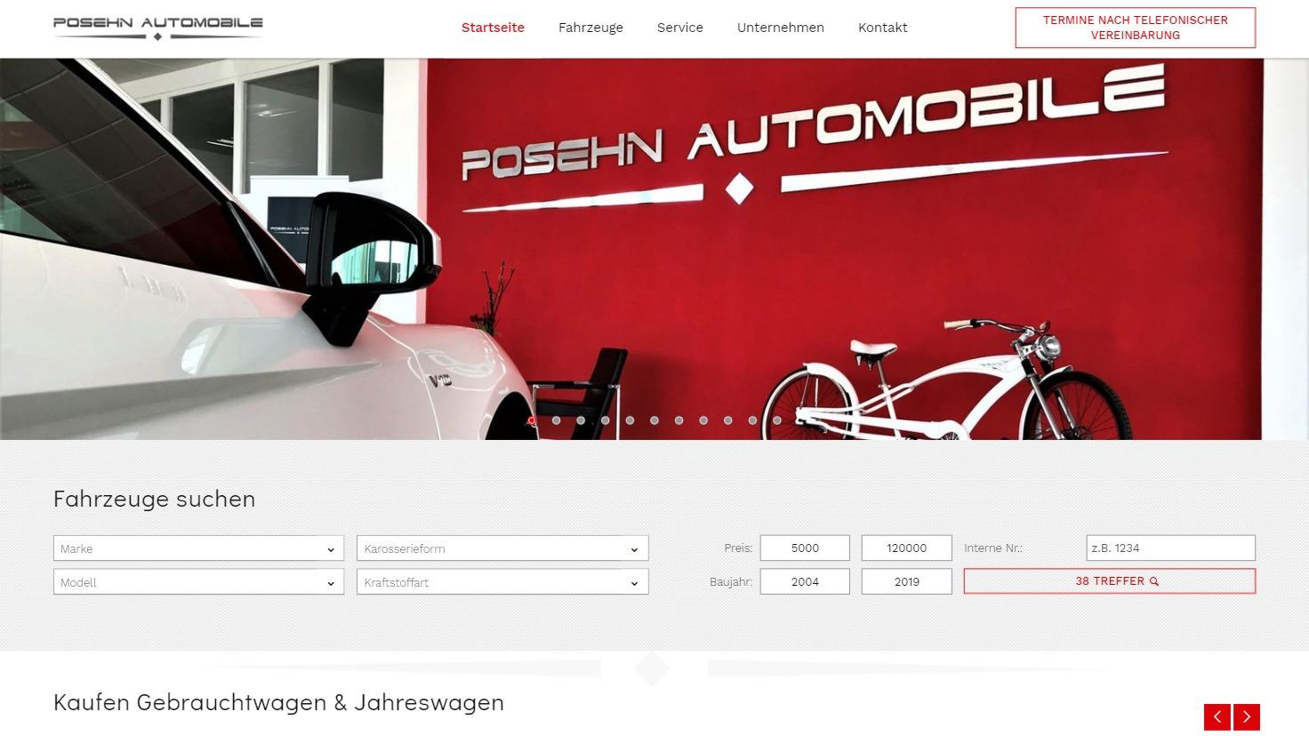 Posehn Automobile - unabhängiger Anbieter in Heсhingen