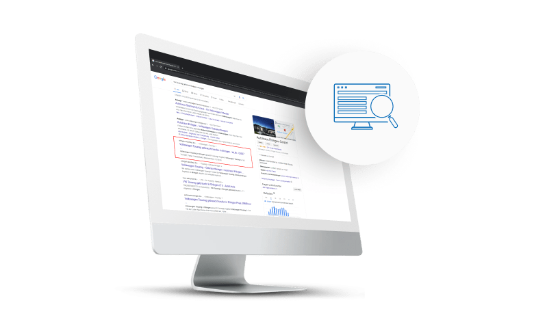 Suchmaschinenoptimierung (SEO) | Symfio - Autohändler-Management-System