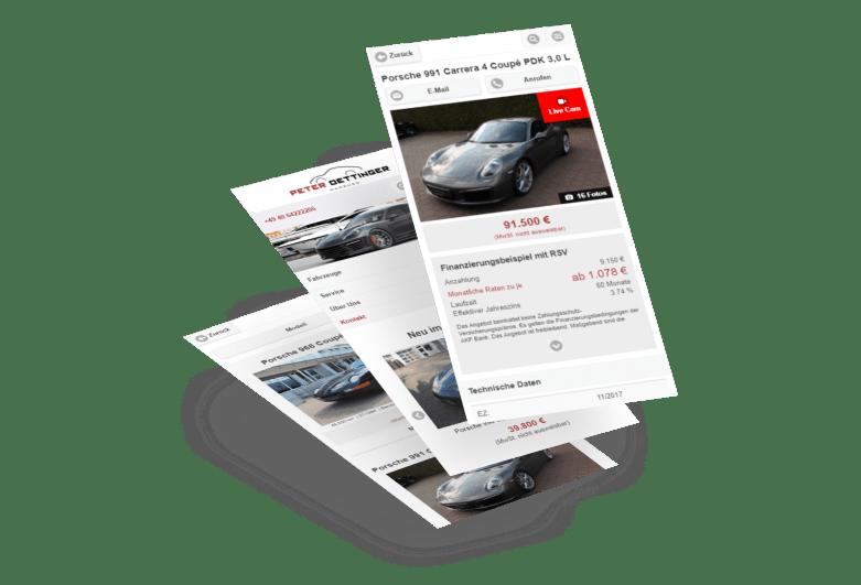 Autohaus Peter Oettinger Hamburg - Leidenschaft & Leistung für Porsche