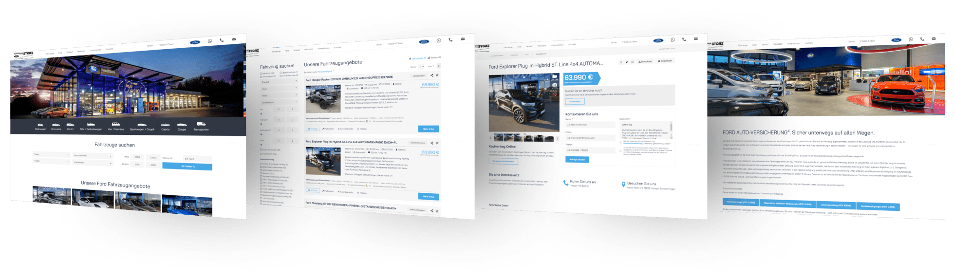 Ford Autohaus Storz - Ford Verkauf und Service in Villingen-Schwenningen, St. Georgen und Furtwangen