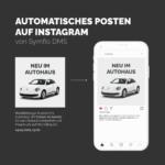 Automatisches Posten auf Instagram | Symfio - Autohändler-Management-System