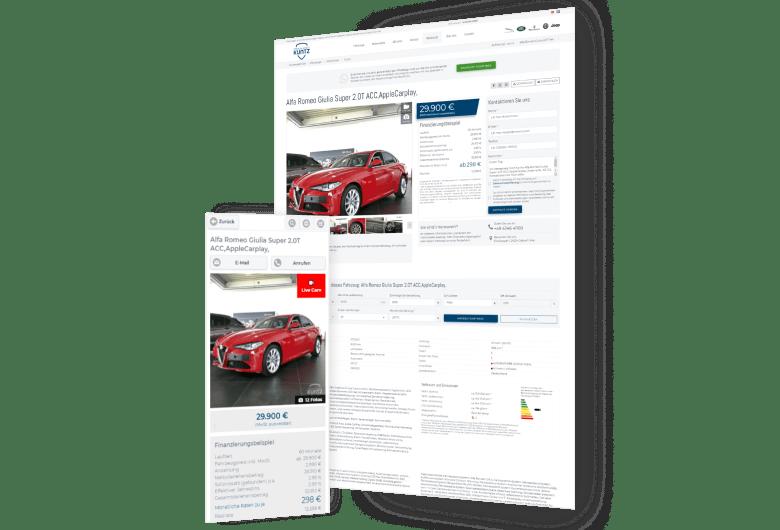 Dealer Management System für Markenhändler Premium Mobile Kuntz